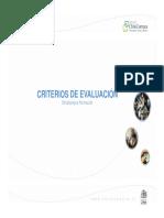 Presentación Criterios de Evaluación