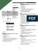 Quick Sheet
