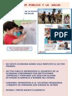 El Sector Público y La Salud