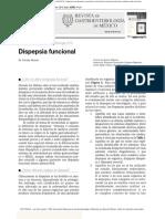 Sx Dispepsia