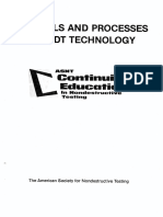 ASNT Materials and Processes for NDT Technology (Harry D. Moore)