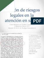 Clase Responsabilidad Legal en Salud, Sá.24.10.15