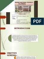 Planeamiento y Control de Operaciones Aplicado en Avicola Cesar