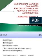 SEMANA 15 BIO 2015 Mutac Nutric