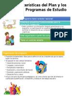 Características Del Plan y Los Programas de Estudio