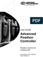 Advanced Position Controller User Guide Issue 6