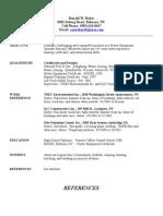 Jobswire.com Resume of ronbaker66