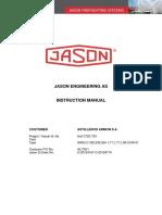 Manual de Multiplicadora Jason en buques mercantes