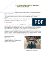 Cargas Electricas y Cuerpos Electrizadoslabo 1 Fisica 3