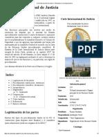 Corte Internacional de Justicia - Wikipedia, La Enciclopedia Libre