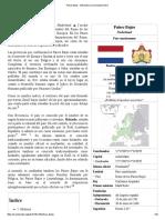 Países Bajos - Wikipedia, La Enciclopedia Libre