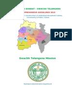 Comprehensive Guidelines Swachh Telangana