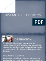RESUMEN-AISLANTES-ELÉCTRICOS