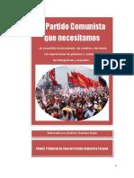 El Partido Comunista que necesitamos