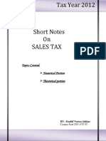 Notes On Sales Tax.pdf