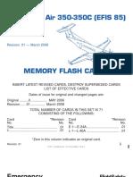 KA 350 EFIS Memory Flash Cards