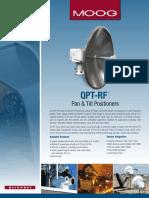 QPT RF Communication Pan Tilt Positioner SpS