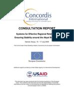 Nairobi Abyei Meeting Report