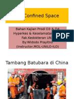 JSA Confined Space