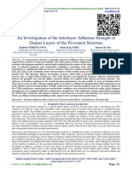 An Investigation of the Interlayer Adhesion Strength in Deeper Layers of the Pavement Structure