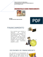 Decisiones Fundamentales Sobre Financiamiento