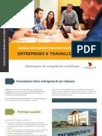 Formations professionnelles digitales & ICT à Technofutur TIC