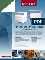 QPT 200 500 Pan Tilt Positioners SpS
