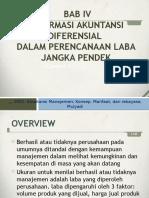 Bab 5 Informasi Akuntansi Diferensial Dalam Perencanaan Laba Jangka Pendek