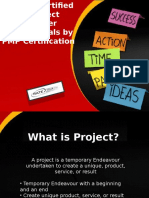 Getting Certified as Project Manager Professionals by PMP Certification