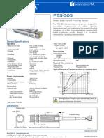 PES-305 Sealed Eddy Current Proximity Sensor 0-5 Mm