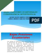 Bajas Presiones Ecuatoriales