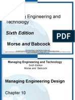 10- Managing Engineering Design