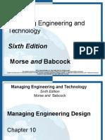 10- Managing Engineering Design