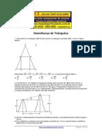 Geometria Plana Semelhanca de Triangulos