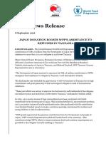 Tz Press Release - Japan Donation Sept 8.pdf
