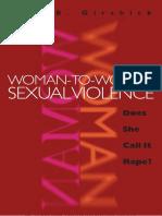 Lori B. Girshick. Woman-to-Woman Sexual Violence