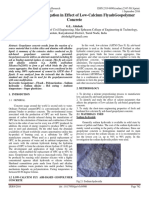 Experimental Investigation in Effect of Low-Calcium FlyashGeopolymer Concrete