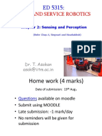 Chapter 2- Sensing and Perception