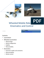 Mobile Robots Kinematics