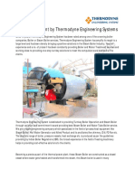 Water Treatment by Thermodyne Engineering Systems