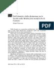 Traversa Guido Dell'Identità e Della Distinzione Tra Le Facoltà Nelle Meditazioni Metafisiche Di Cartesio