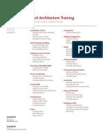 Revit Architecture Training Course Outline