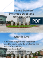Synthetic Dyes