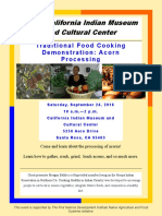 California Indian Museum  and Cultural Center Acorn Workshop