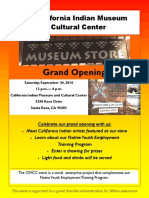 California Indian Museum  and Cultural Center Museum  Store Grand Opening