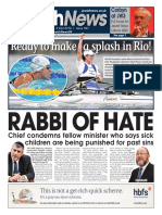 8 September 2016, Jewish News, Issue 967