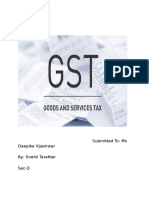 Introduction on GST