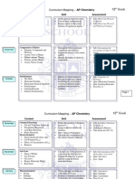 curriculum mapping - ap chemistry
