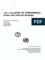 9275115052 the Challenge of Epidemiology Issues and Selected Readings Who Paho Book