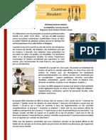 Fiche Info Grote Keuken - Grande Cuisine - FR